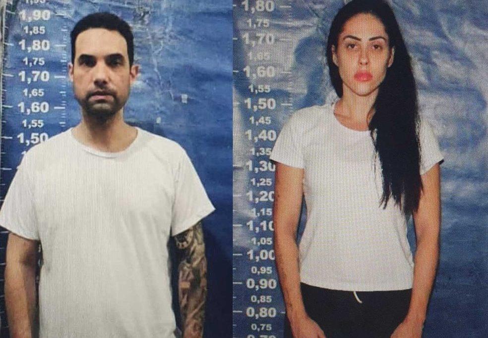 Jairinho e Monique Medeiros estão presos preventivamente/Reprodução