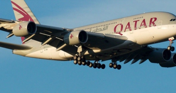 Homem de 50 anos chegou ao Brasil em um voo da Quatar/Divulgação/Qatar Airways