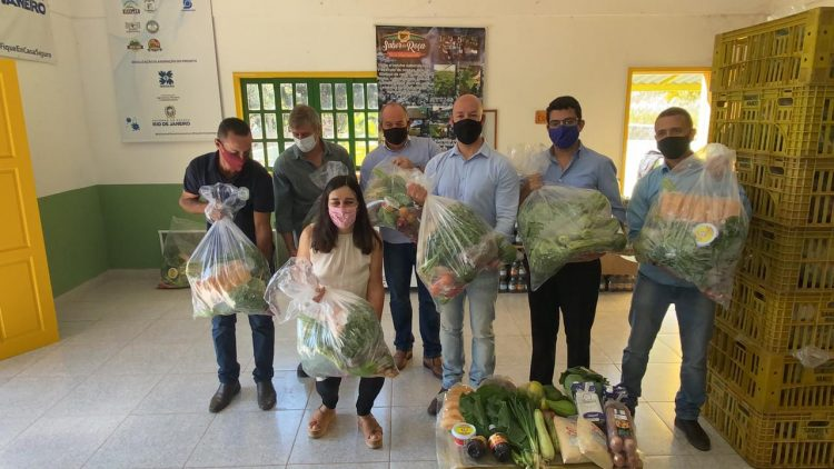 Ação vai beneficiar produtores familiares de Teresópolis e Nova Friburgo/Divulgação/Governo do Estado do RJ
