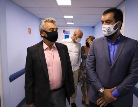 Dr. João (DEM) e o governador Cláudio Castro: futura chapa de olho no quinto colégio eleitoral do estado do Rio de Janeiro/Reprodução