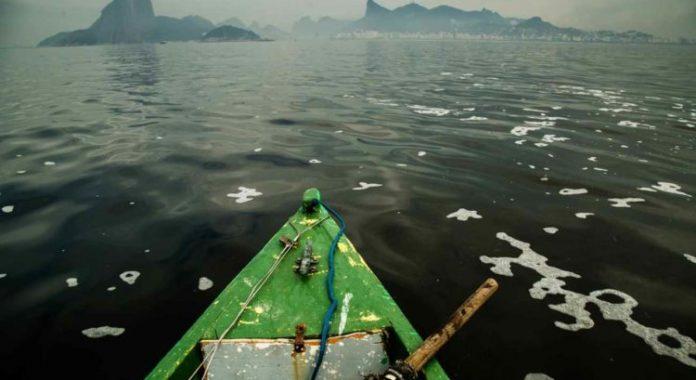 Celebração do acordo pelo INEA com empresas não consultou as comunidades tradicionais de pescadores da região/Reprodução
