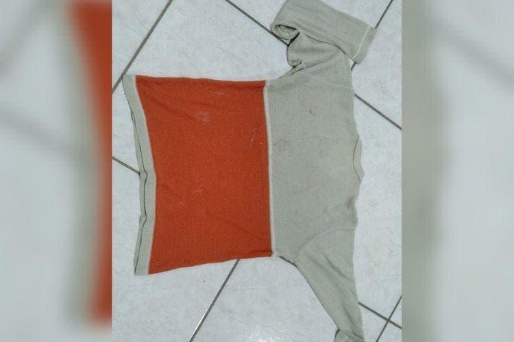 Homem teria usado camiseta para estrangular a filha em Guaramirim?Polícia Militar/Divulgação