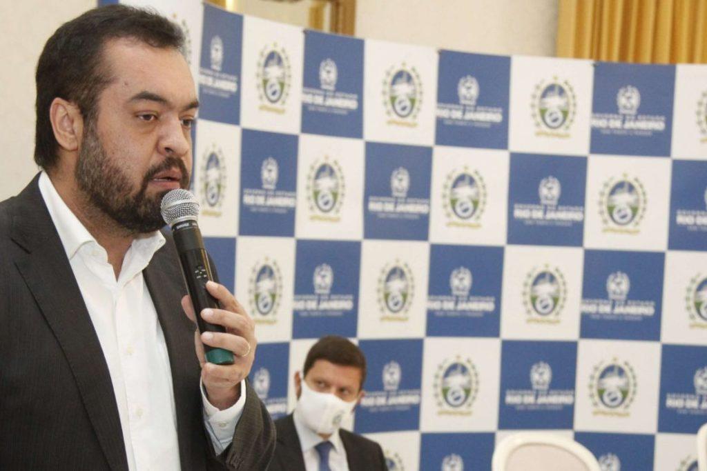 Governador Cláudio Castro lançou o programa no Palácio Guanabara/Divulgação/Governo do Estado