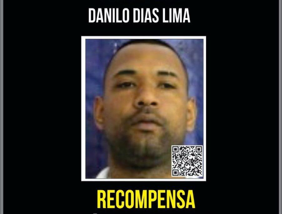 Recompensa por informações que possam levar à prisão de Tandera aumentou de R$ 1 mil para R$ 5 mil/Portal dos Procurados/Divulgação