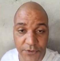Edson gravou um vídeo para se defender das acusações/Reprodução