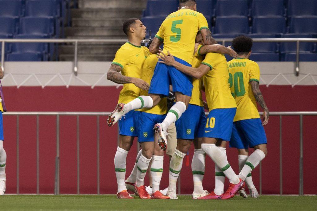 Seleção decide vaga na final com México, que goleou a Coreia do Sul/Lucas Figueiredo/CBF