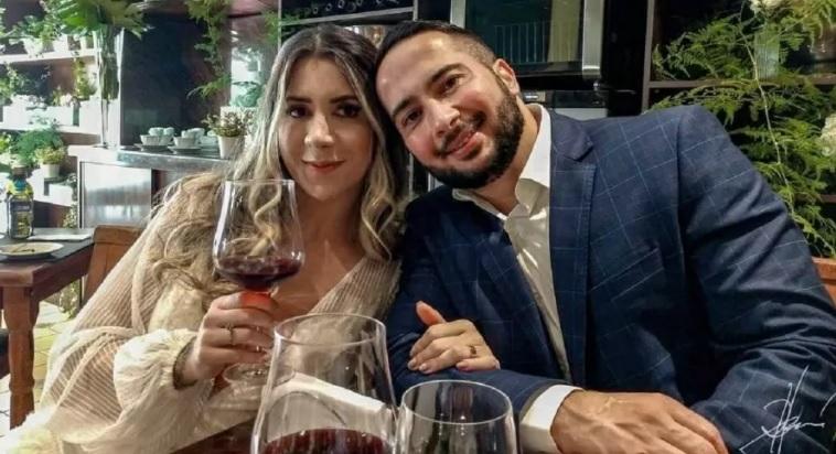 Nahaty Gomes e Ricardo Pinheiro: de casal feliz à barbárie/Reprodução/Redes sociais