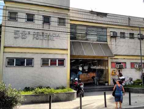 O acusado foi preso por agentes da 58ª DP/Divulgação
