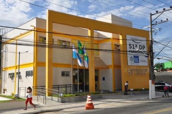 Equipe da 51ªDP (Paracambi) fez a prisão do traficante por tentativa de homicídio/Reprodução