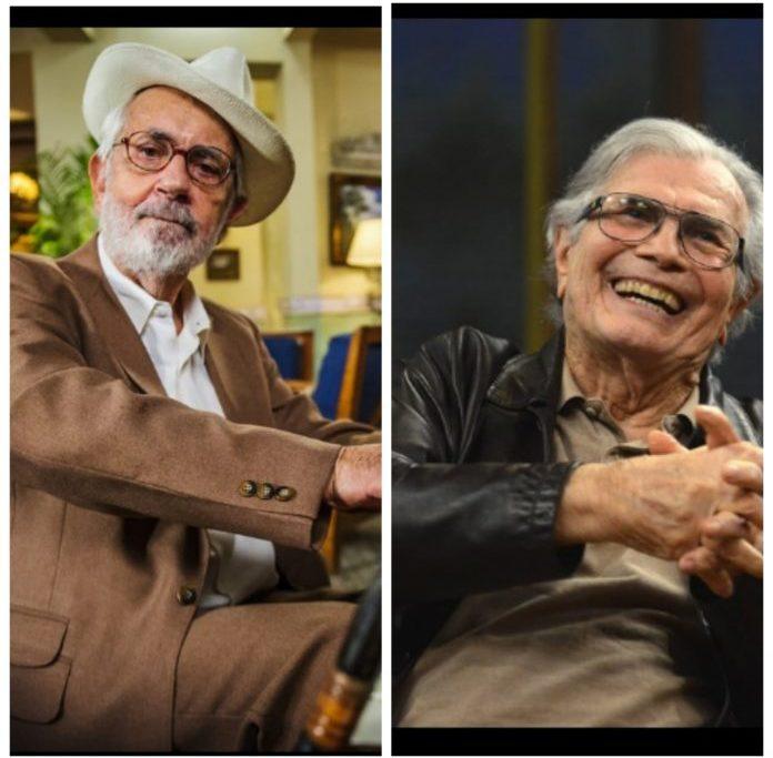 Paulo José e Tarcísio Meira saem de cena deixando saudades e uma vasta obra/Divulgação