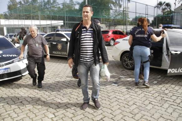 m dos suspeitos presos na operação em Duque de Caxias/Marcos Porto / Agência O DIA
