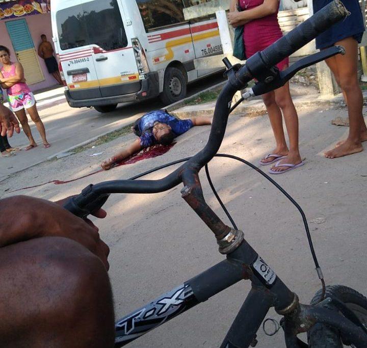 A vítima foi morta na Favela da Carobinha, em Campo Grande Reprodução/Redes sociais