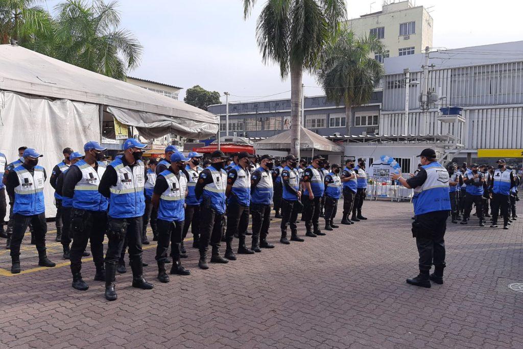 O efetivo conta com 48 policiais militares, 15 agentes civis egressos das forças armadas e 1 assistente social/Arquivo pessoal