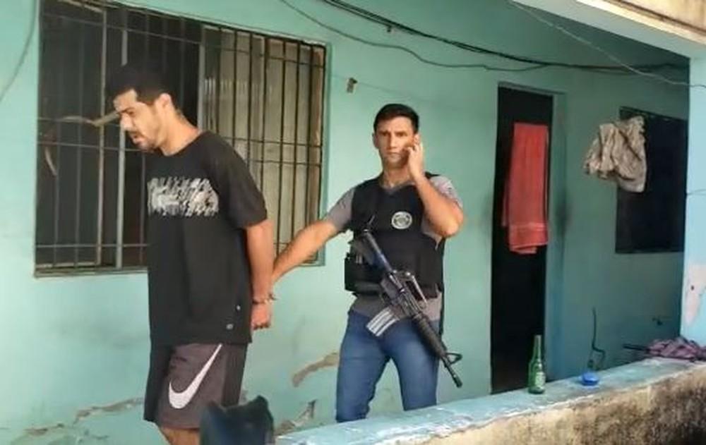 Marcos Alexandre Silva de Carvalho, de 27 anos, foi preso em Nova Iguaçu/Divulgação