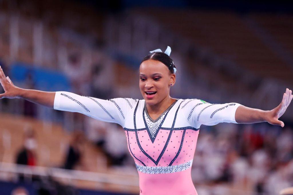 É a segunda medalha da ginasta em Tóquio/REUTERS/Lisi Niesner