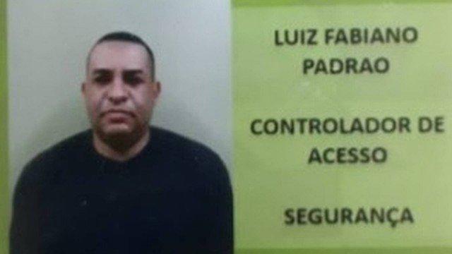 O segurança Luiz Fabiano da Silva Padrão, de 42 anos, saía do plantão do Hospital Adão Pereira Nunes quando foi morto/Reprodução
