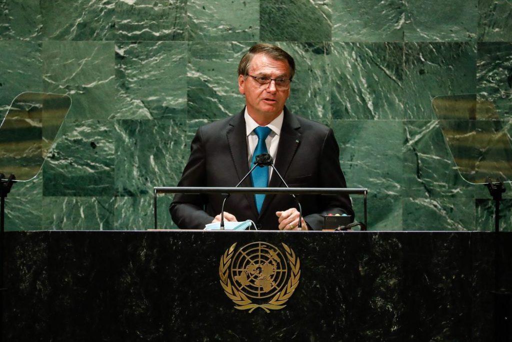 Bolsonaro discursa na ONU: Brasil trabalha para atrair investimentos da iniciativa privada/Alan Santos/PR