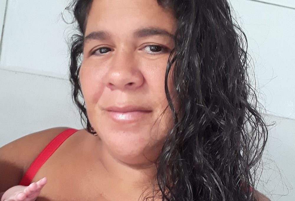 Paula foi levada de casa por bandidos/Reprodução/Redes sociais