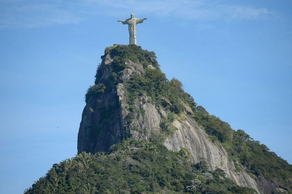 Vista do Cristo Redentor no Rio de Janeiro/Reprodução