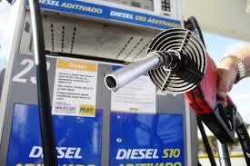 O preço médio do diesel passa de R$ 2,81 para R$ 3,06 por litro/Reprodução