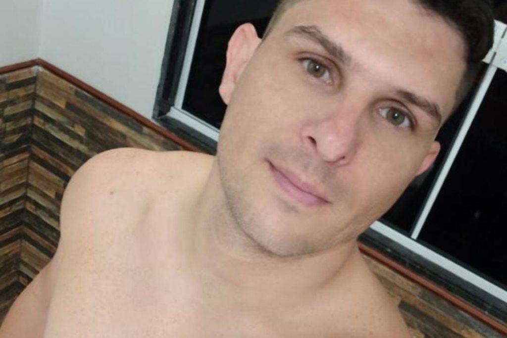 O cabo Dutra foi morto dentro de uma barbearia em Nova Iguaçu/Reprodução/Redes sociais