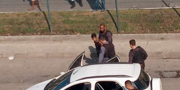 Dois bandidos foram presos na ação/Reprodução