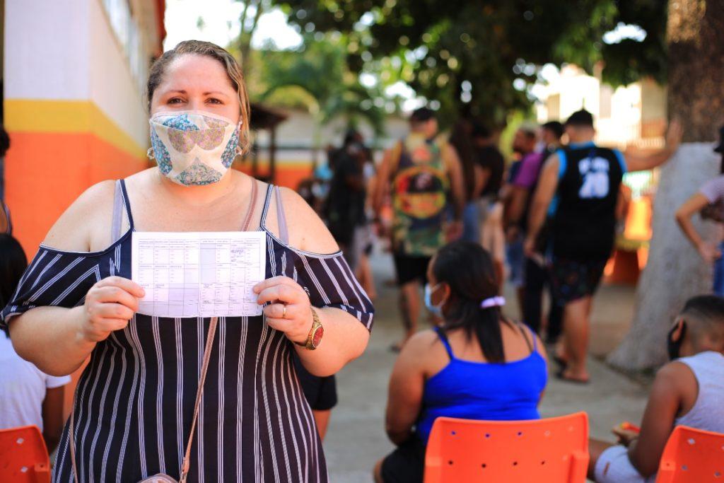 Cristiane Lima frisou que vou muitas pessoas morrendo e destacou a importância da vacinação/Rafael Barreto/PMBR