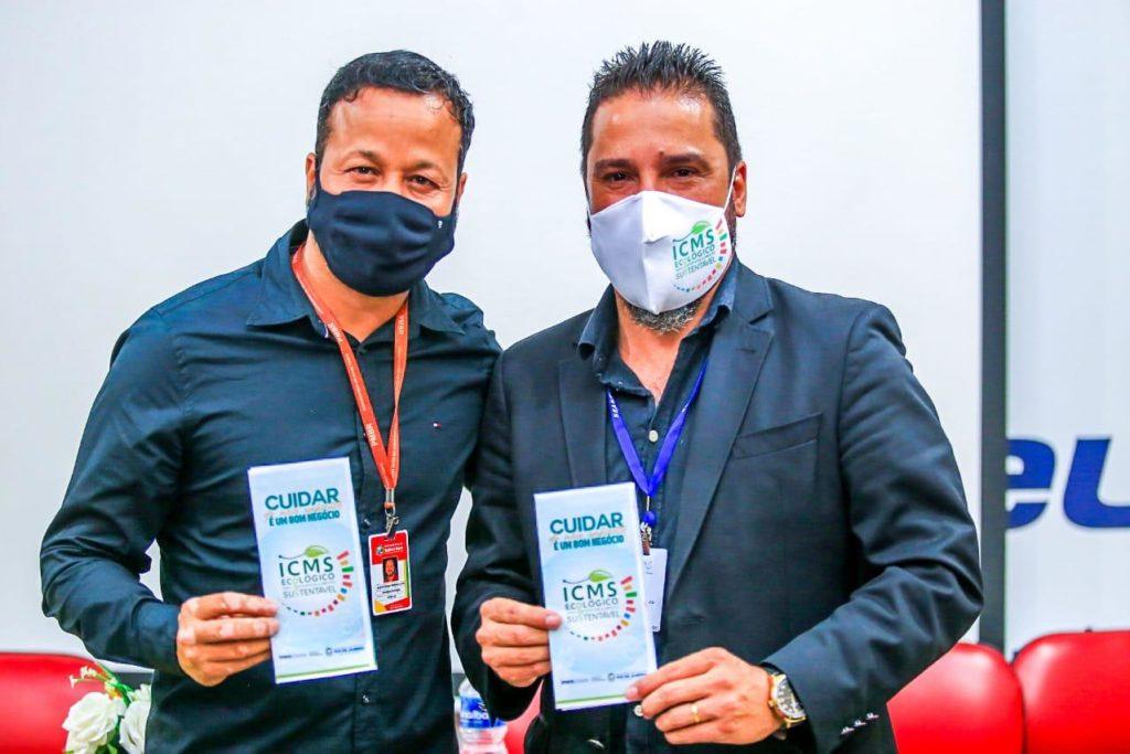 """Diversas autoridades municipais e estaduais participaram do evento """"Diálogos Sustentáveis""""/Rafael Barreto/PMBR"""