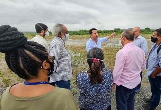 Integrantes das Comissões de Direitos Humanos e Cidadania e de Representação de Governança da Região Metropolitana visitam o local/Divulgação/Alerj