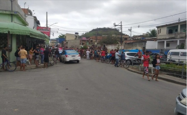 Caso aconteceu na localidade conhecida como 29 de Março, no Santa Margarida/Reprodução do Facebook