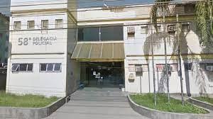 Agentes da 55º DP investigam o caso de extorsão em troca de falsa segurança/Reprodução